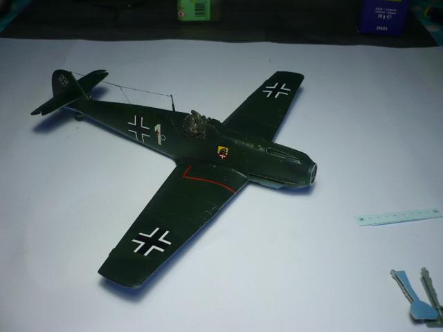 BF-109 E3 I/JG-76 airfix 1/48e P1140339
