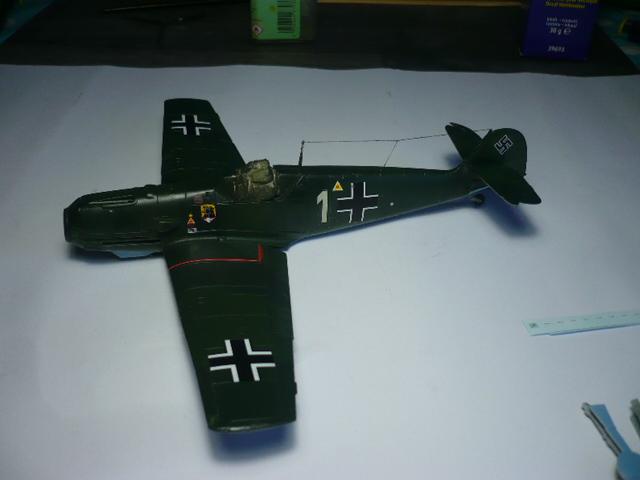 BF-109 E3 I/JG-76 airfix 1/48e P1140340