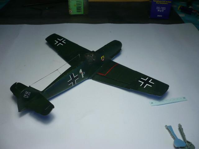 BF-109 E3 I/JG-76 airfix 1/48e P1140341