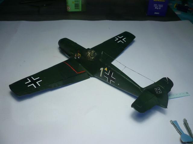 BF-109 E3 I/JG-76 airfix 1/48e P1140342