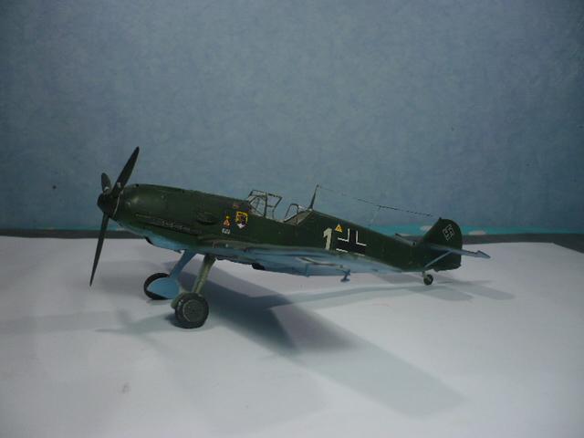 BF-109 E3 I/JG-76 airfix 1/48e P1140343
