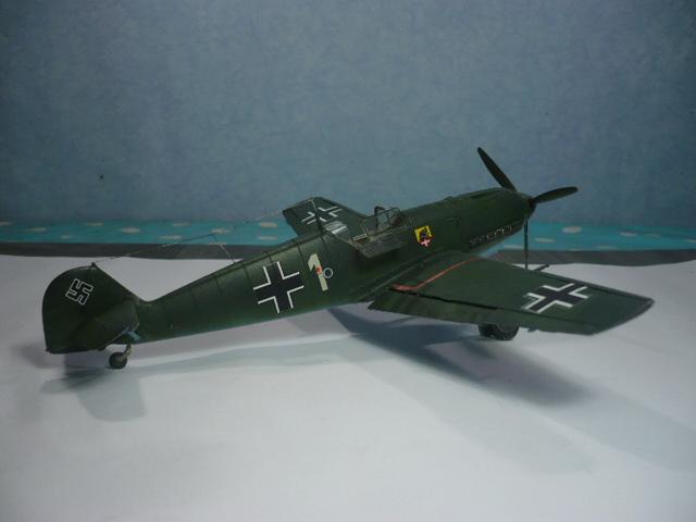 BF-109 E3 I/JG-76 airfix 1/48e P1140344