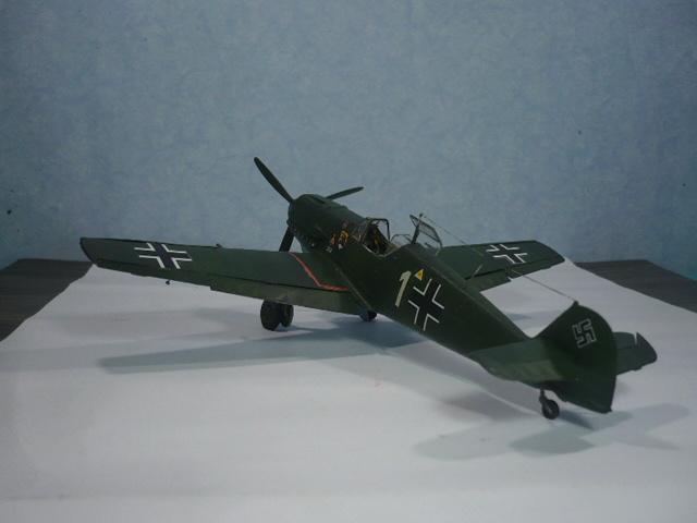 BF-109 E3 I/JG-76 airfix 1/48e P1140345