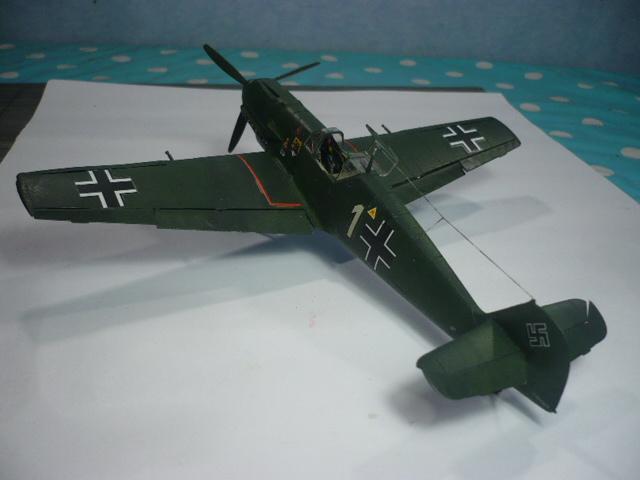 BF-109 E3 I/JG-76 airfix 1/48e P1140346