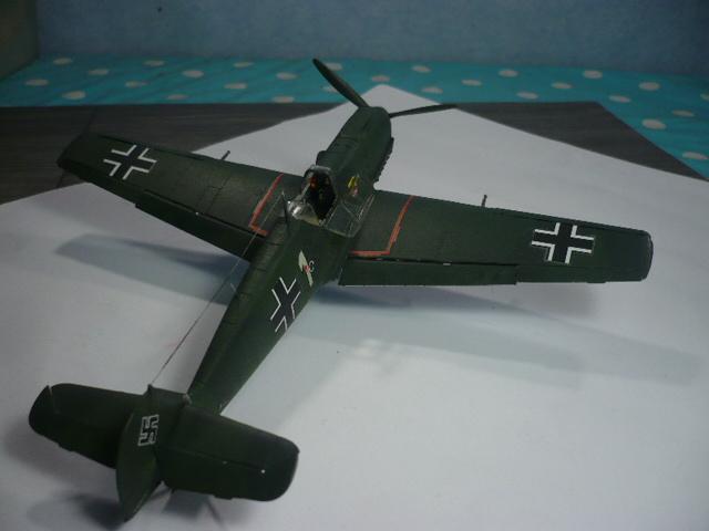 BF-109 E3 I/JG-76 airfix 1/48e P1140347