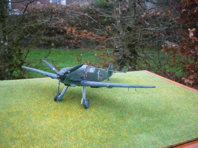 BF-109 E3 I/JG-76 airfix 1/48e P1140411