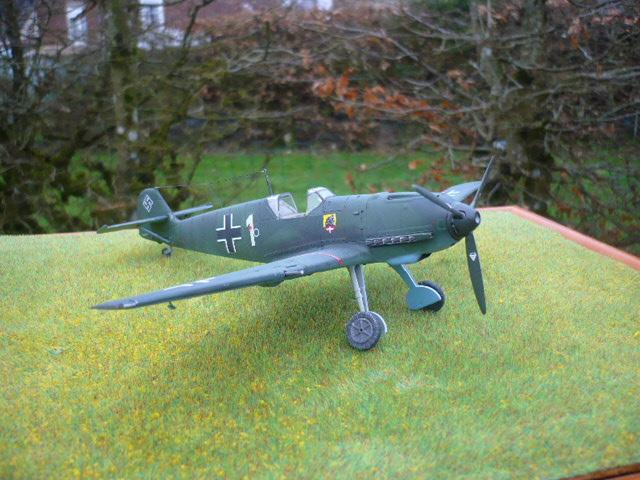 BF-109 E3 I/JG-76 airfix 1/48e P1140412