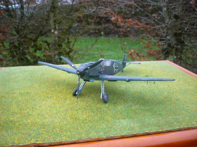 BF-109 E3 I/JG-76 airfix 1/48e P1140414