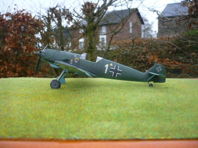BF-109 E3 I/JG-76 airfix 1/48e P1140415