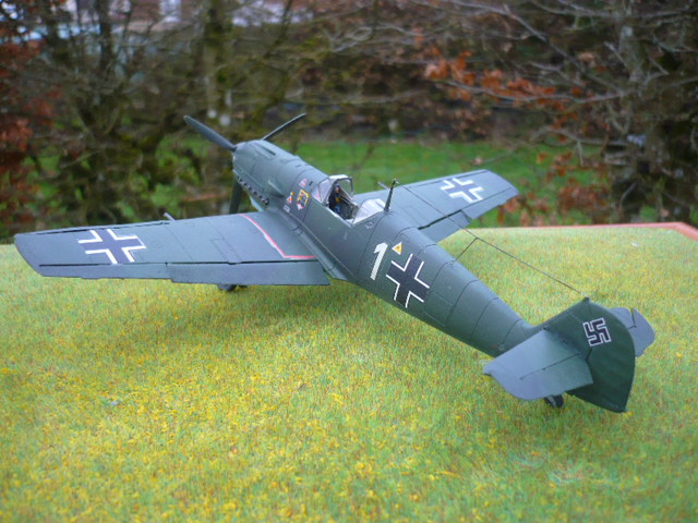 BF-109 E3 I/JG-76 airfix 1/48e P1140416