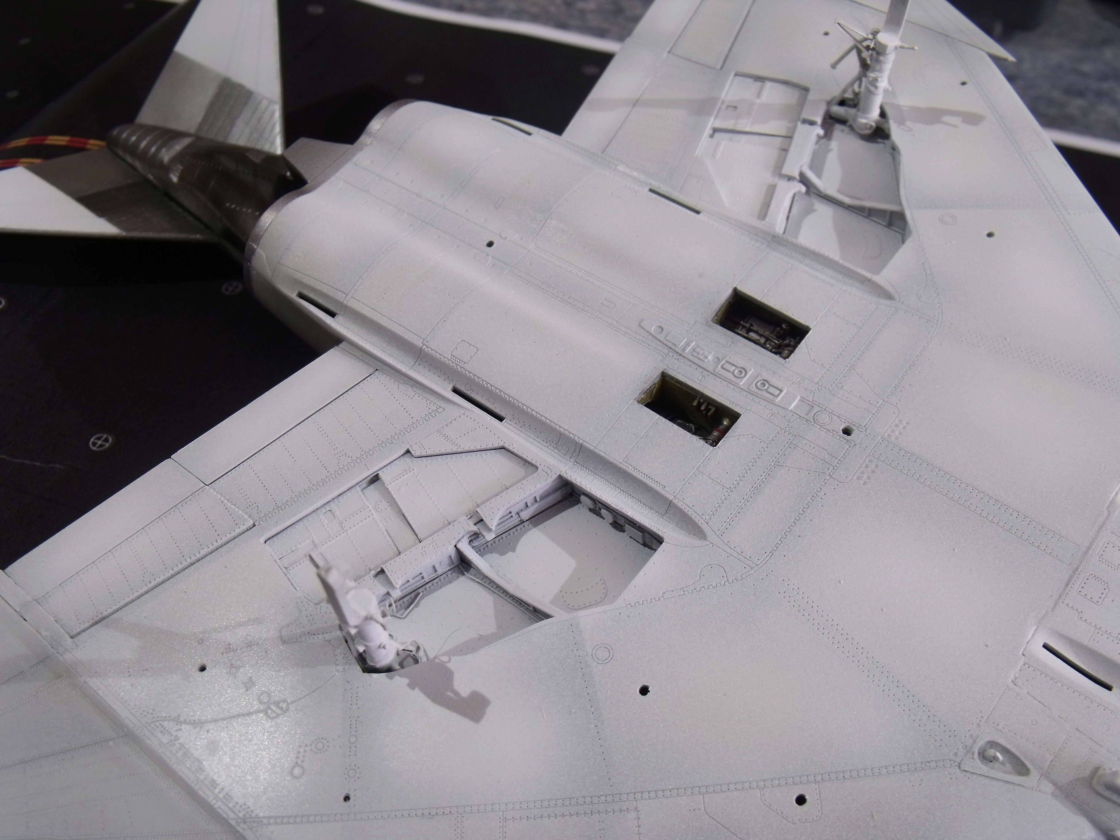 F-4 B Phantom 1/48° - VF-51 - 1972 - Début de patine. - Page 4 Dscf7137