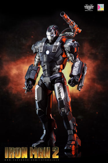 Iron Man 2 : War Machine - 1/9 Diecast (King Arts) 00085210