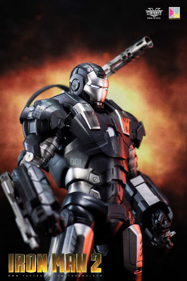 Iron Man 2 : War Machine - 1/9 Diecast (King Arts) 00085310