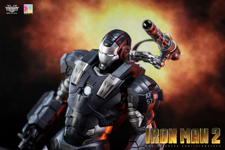 Iron Man 2 : War Machine - 1/9 Diecast (King Arts) 00085311