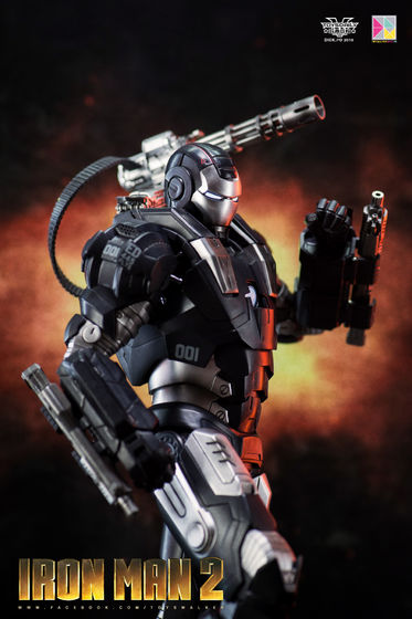 Iron Man 2 : War Machine - 1/9 Diecast (King Arts) 00085410