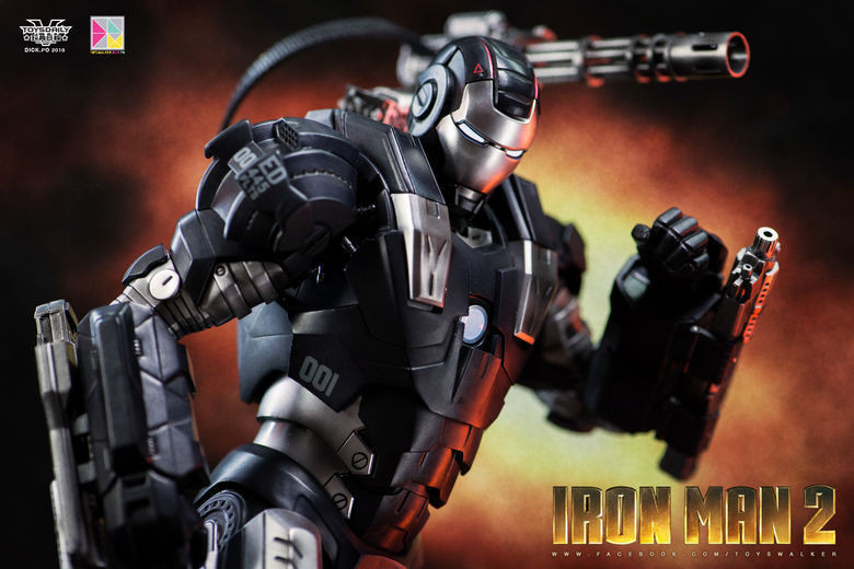 Iron Man 2 : War Machine - 1/9 Diecast (King Arts) 00085411