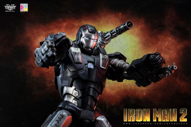 Iron Man 2 : War Machine - 1/9 Diecast (King Arts) 00085510