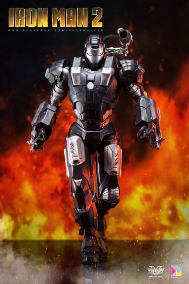 Iron Man 2 : War Machine - 1/9 Diecast (King Arts) 00085511