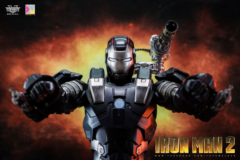 Iron Man 2 : War Machine - 1/9 Diecast (King Arts) 00085512