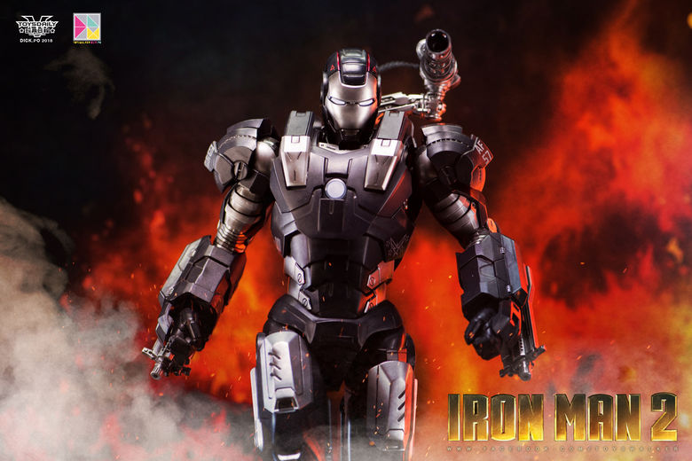 Iron Man 2 : War Machine - 1/9 Diecast (King Arts) 00085610