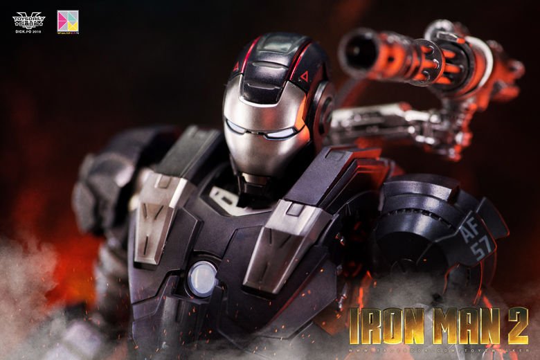 Iron Man 2 : War Machine - 1/9 Diecast (King Arts) 00085611