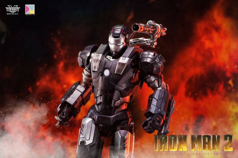 Iron Man 2 : War Machine - 1/9 Diecast (King Arts) 00085612