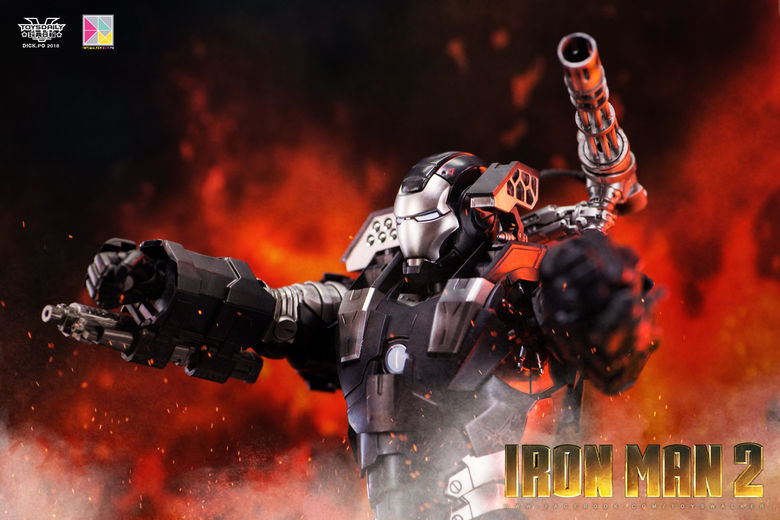 Iron Man 2 : War Machine - 1/9 Diecast (King Arts) 00085812
