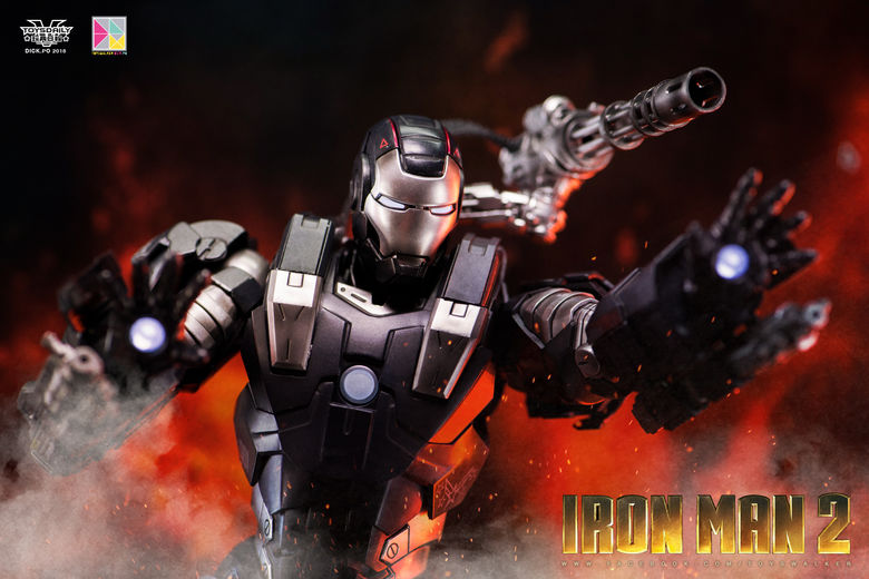 Iron Man 2 : War Machine - 1/9 Diecast (King Arts) 00085910