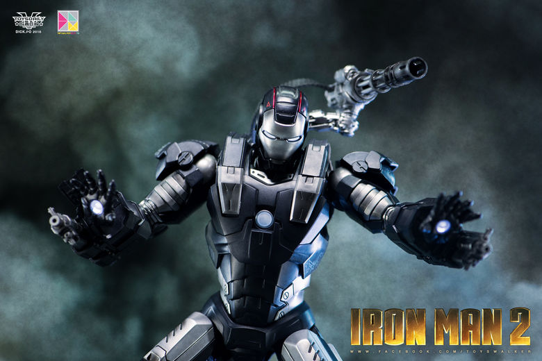 Iron Man 2 : War Machine - 1/9 Diecast (King Arts) 00085911