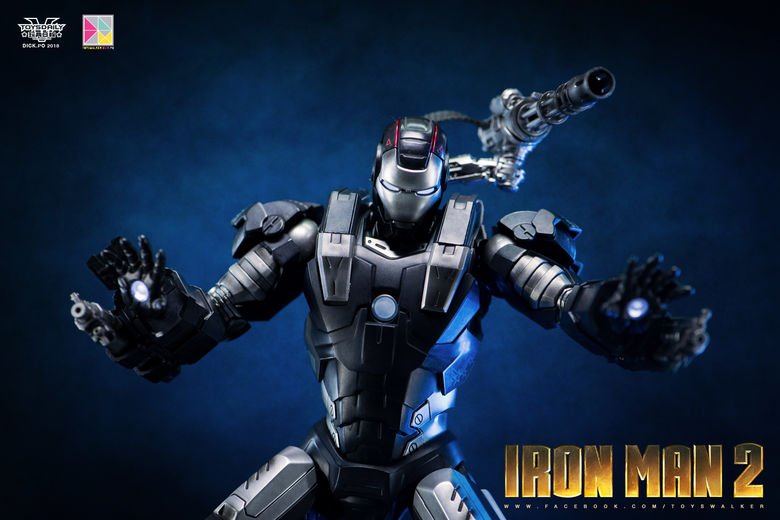 Iron Man 2 : War Machine - 1/9 Diecast (King Arts) 00085912