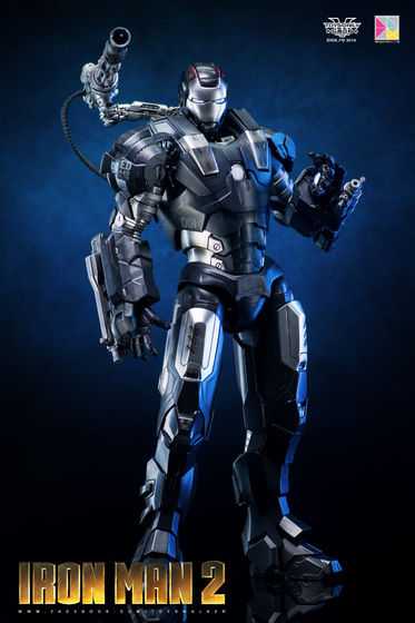 Iron Man 2 : War Machine - 1/9 Diecast (King Arts) 00090010