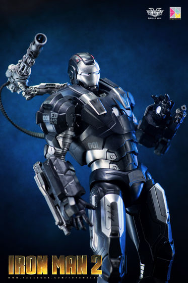 Iron Man 2 : War Machine - 1/9 Diecast (King Arts) 00090011