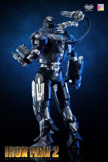 Iron Man 2 : War Machine - 1/9 Diecast (King Arts) 00090110