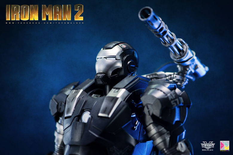 Iron Man 2 : War Machine - 1/9 Diecast (King Arts) 00090111
