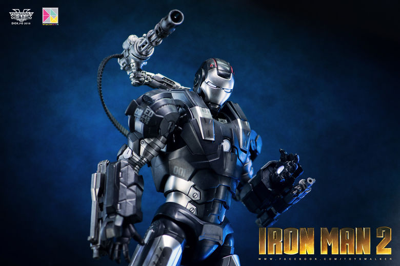 Iron Man 2 : War Machine - 1/9 Diecast (King Arts) 00090112