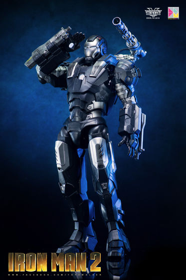 Iron Man 2 : War Machine - 1/9 Diecast (King Arts) 00090210