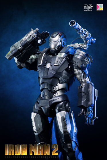 Iron Man 2 : War Machine - 1/9 Diecast (King Arts) 00090211