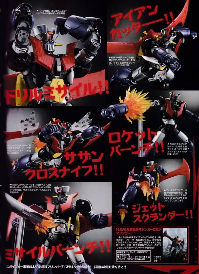Mazinger Z Infinity - Metal Build (Bandai) 00110810