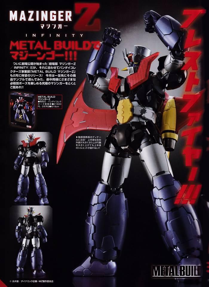 Mazinger Z Infinity - Metal Build (Bandai) 00110811