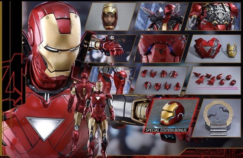 Avengers - Iron Man Mark VI (6) 1/6 (Hot toys) 01072710