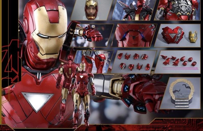 Avengers - Iron Man Mark VI (6) 1/6 (Hot toys) 01073310