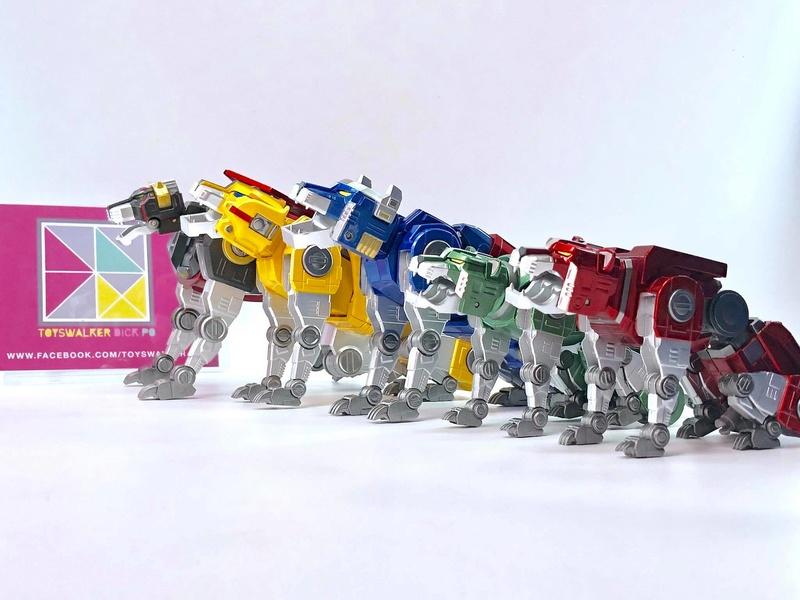 Voltron (Lion Voltron) - Diecast Golion (Icarus Toys / Toyswalker) 01472111