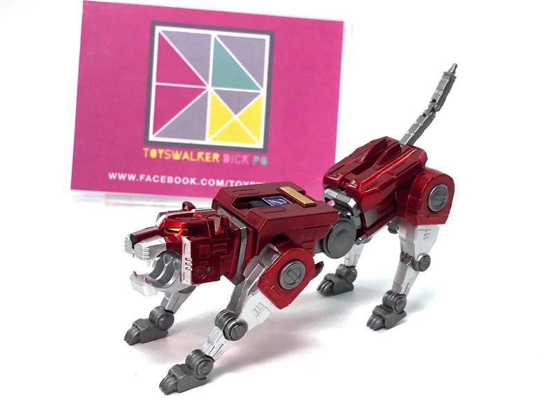 Voltron (Lion Voltron) - Diecast Golion (Icarus Toys / Toyswalker) 01472210