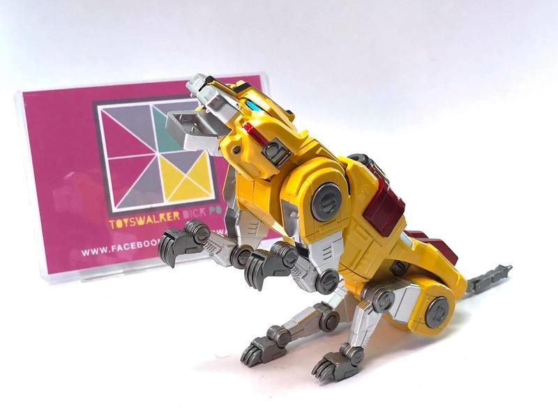 Voltron (Lion Voltron) - Diecast Golion (Icarus Toys / Toyswalker) 01472312