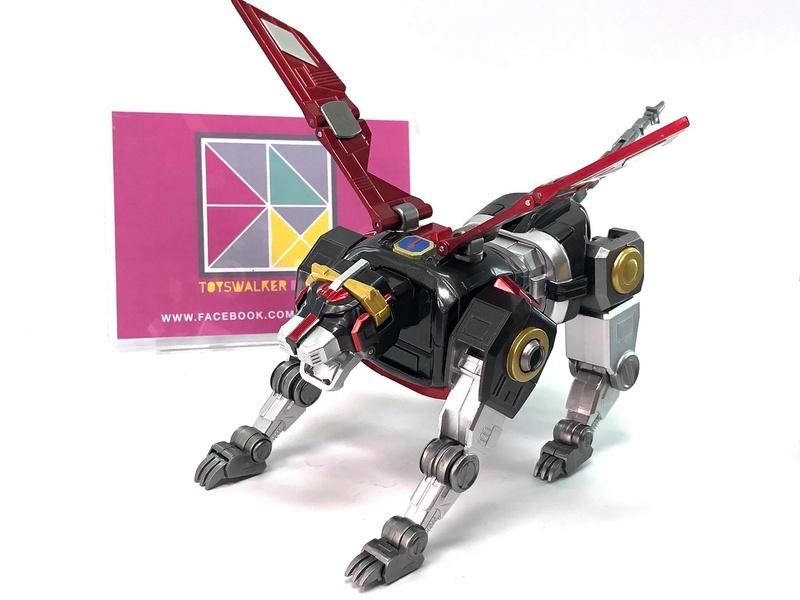 Voltron (Lion Voltron) - Diecast Golion (Icarus Toys / Toyswalker) 01472313