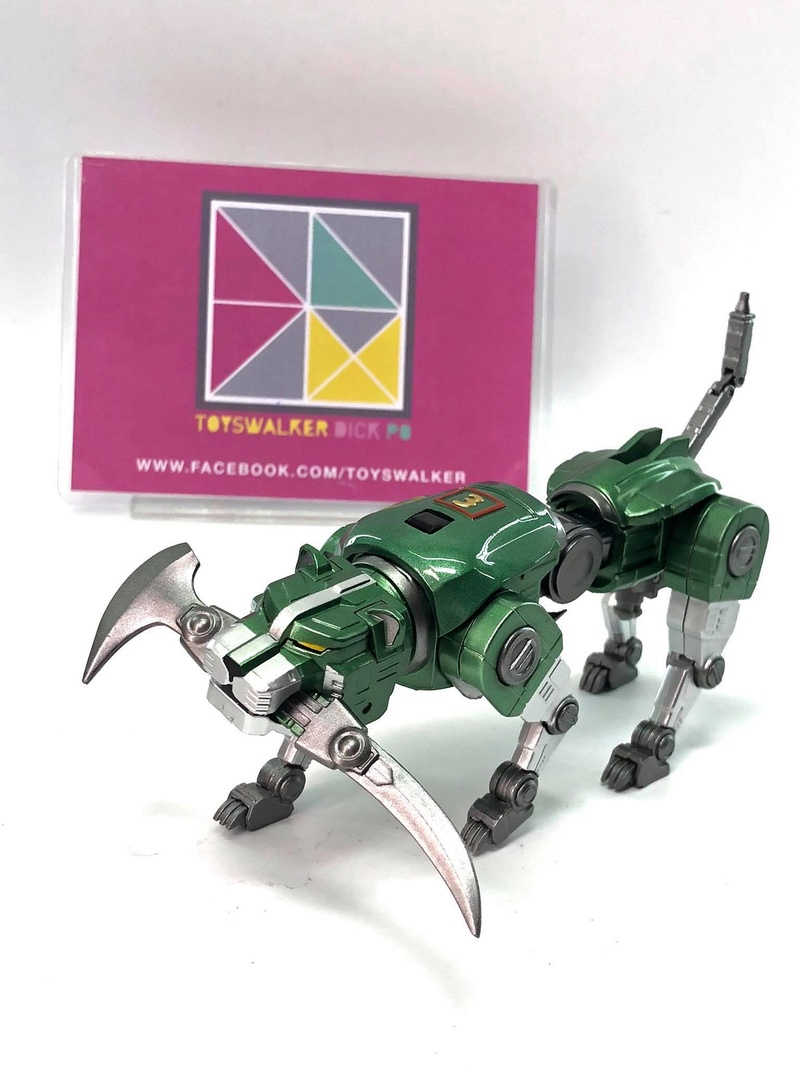 Voltron (Lion Voltron) - Diecast Golion (Icarus Toys / Toyswalker) 01472511