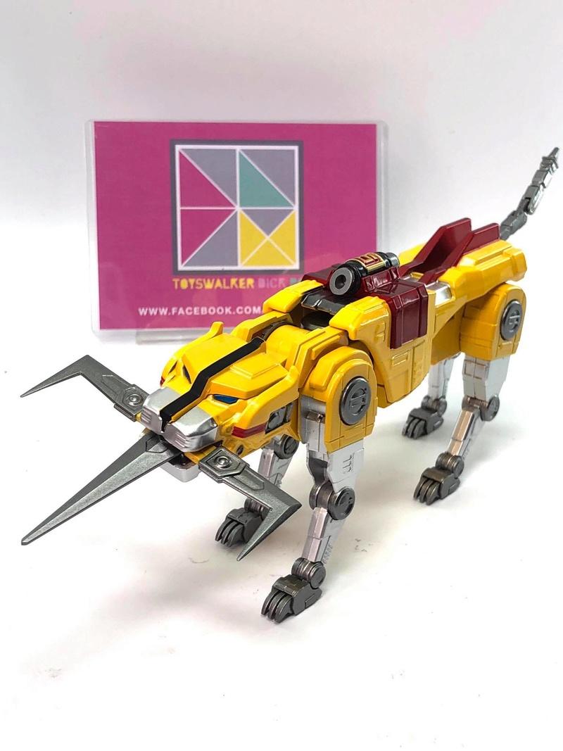 Voltron (Lion Voltron) - Diecast Golion (Icarus Toys / Toyswalker) 01472710