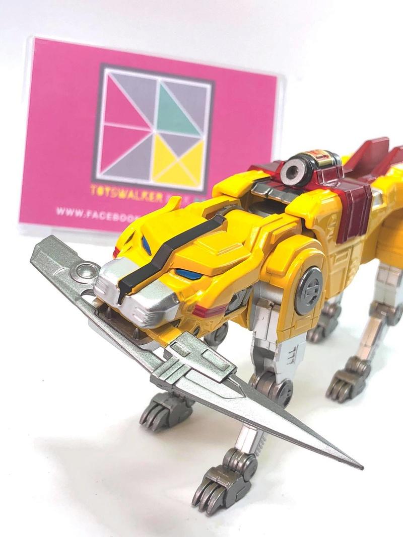 Voltron (Lion Voltron) - Diecast Golion (Icarus Toys / Toyswalker) 01472911