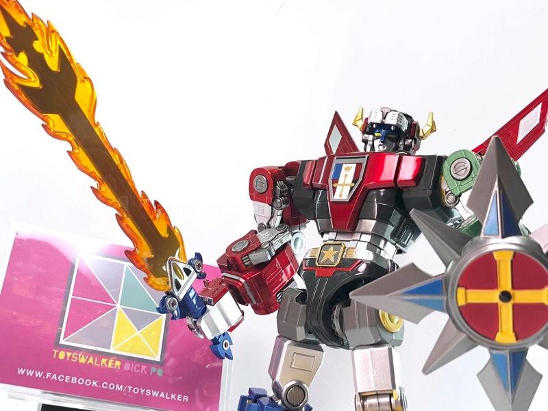 Voltron (Lion Voltron) - Diecast Golion (Icarus Toys / Toyswalker) 01473111