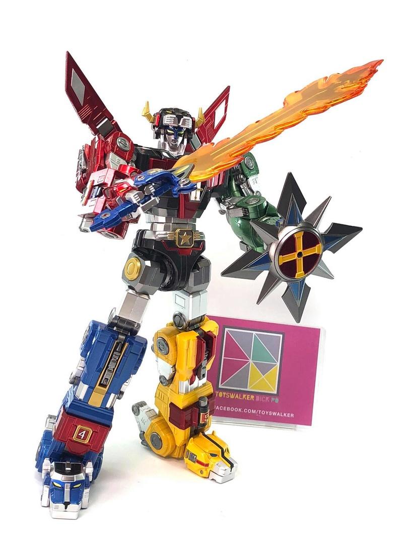 Voltron (Lion Voltron) - Diecast Golion (Icarus Toys / Toyswalker) 01473112